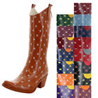Corky's Stadium Stompers Womens Rain Boots Rubber Wellies