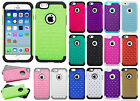 For Apple iPhone 6 / 6s HYBRID IMPACT Hard Dazzling Diamond Case Phone Cover