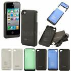 1900mAh Power Bank Portable Backup Battery Charger Case For iPhone 4 4S 4G