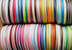"5y 10y 25y 38mm 50mm 75mm Mixed Grosgrain Ribbon 1 1/2"" 2"" 3"" Premium Eco Heavy"