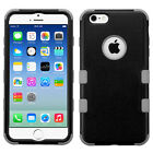 For Apple iPhone 6 / 6s IMPACT TUFF HYBRID Case Skin Phone Covers +Screen Guard