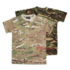 Kids Army Combat T-shirt Childrens Military Cadet Soldier Camo Top Fancy Dress