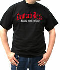 DR001 T-Shirt Tee S-5XL Punk Skin Metal Deutsch Rock Singend durch die Hölle