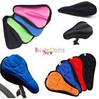 Comfortable Bike Bicycle Soft Silicone Saddle Seat Gel Pad Cushion Cover