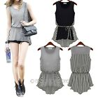 New Fashion Women Casual Sleeveless Party Evening Tank Vest T shirt Blouse Tops