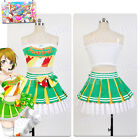 Love Live! Hanayo Koizumi Party Dress Cosplay Costume Outfit Cheerleader Uniform