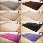 Thick Shaggy Pile Rugs, Soft Touch Heavy Mat, Lounge Bedroom, Beige Cream & More