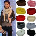 Winter Women Fashion Multicolor Simple Solid Color Warm Collar Scarves Wraps