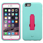 For Apple iPhone 6 Plus 5.5 IMPACT Hard Rubber Case Phone Cover Kickstand