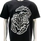 sc24 L XL Survivor Chang 3D T-shirt Tattoo Glow in Dark Scorpion STUD Poison Men