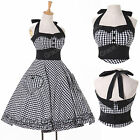 2015 Cheap Rockabilly Vintage Ball Party Prom Cocktail Masquerade Banquet Dress