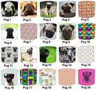 Lampshades, Ideal To Match Pug Dog Wallpaper, Pug Dogs Wall Decals & Pugs Duvets