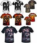 All Over Sublimation KISS Rock Band Face Live Concert Logo Kid Boy Youth T-shirt