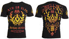 Archaic AFFLICTION Men T-Shirt WORTHING Biker MMA American Fighter M-4XL $40 image