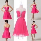 ❤CHEAP❤ Formal Bridesmaid Ball Gown Party Evening Homecoming Short Prom Dresses