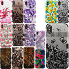 For Boost Mobile ZTE Warp Sync N9515 IMPACT TUFF HYBRID Case Skin Phone Cover