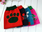 Fashion Puppy Pet Dog Soft Cozy Knit Warm Sweater Clothes Apparel Coat 5 Size