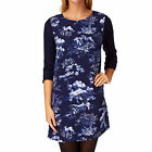 Joules Beydale  Womens  Dress - Navy Woodland