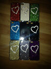 DIAMOND CRYSTAL BLING SPARKLE CUTE HEART LOVE HARD CASE COVER FOR IPHONE 4G 4S