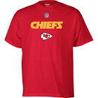 Kansas City Chiefs Shirt Men's Sideline Authentic Tee Reebok Red