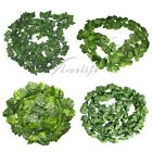 5PCS Artificial Ivy Leaf Garland Plant Vine Fake Foliage Flowers Home Decor
