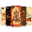 HEAD CASE THANKSGIVING TYPOGRAPHY PROTECTIVE COVER FOR BLACKBERRY Z10