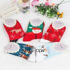 Women Girls Trendy Christmas Style Painting Pattern Cotton Above Ankle Socks New