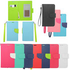 Designer UNI Leather Wallet Pouch Cover Case For Alcatel One Touch Fierce 2