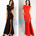 Lady's new Sexy Elegant Slim Long Maxi Lace Gown Evening Cocktail Party Dress
