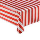 SPOTS STRIPES GINGHAM VINYL WIPE CLEAN TABLECLOTH OILCLOTH