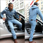 Dirty Money Jeans Denim Suit All in One Jumpsuit Overalls Onesie Piece