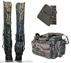 Camo Carp Fishing Luggage Rod Bag / Holdall ,Carryall,Rig Wallet  Option