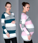 MIJA / Maternity  pregnancy warm and Pullover Jumper Sweater UK size 8 10 12