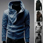 London CHEAP  Mens VOGUE TRENCH Slim Fit FALL WINTER Warm Outwear Hooded Coats