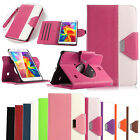 """Folio PU Leather Case Cover Stand For Samsung Galaxy Tab 4 7.0"""" 7 inch SM-T230"""