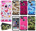 """For Apple iPhone 6 6S Plus 5.5"""" HARD Hybrid Rubber Silicone Case Phone Cover"""