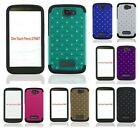 For Alcatel One Touch Fierce 2 7040T Hybrid Diamond Multi Color Cute Cover Case
