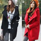 Hot Fashion Women Ladies Jacket Outwear Long Sleeve Long Coat Casual Parka