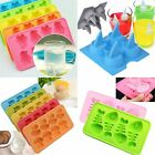 Multi-style Ice Cube Tray DIY Mould Chocolate Jelly Mold Random Color