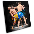 MMA Anderson Silva Sports SINGLE CANVAS WALL ART Picture Print VA