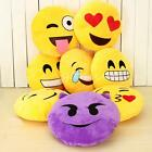 Cute Emoji Smiley Emoticon Round Soft Cushion Pillow Stuffed Plush Toy Doll