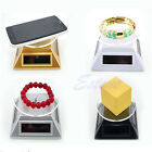 Power Solar 360 Rotating Display Stand Turn Table Plate For Phone Watch Jewelry