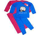 Stardust BROFIST PYJAMAS/SLEEPWEAR Unisex Child/Kids Clothing Cotton BN