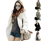 New Women's Coat Thicken Artificial Wool Lycra with Belt Jacket Soft Warm Hot