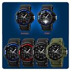 Man's Military #B Sprots Chronograph Alarm Rubber Anti-SHOCK Digital Light Watch