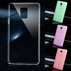Thin Transparent Clear Back Phone Case Cover Skin For Samsung Galaxy Note 4 N910