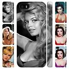 Brigitte Bardot and Elizabeth Taylor Full Wrap Cover Case for Apple iPhone 4 - 4