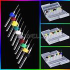 10pcs/Set 0.1mm to 2.0 mm PCB Print Circuit Board Carbide Micro Drill Bits Tool