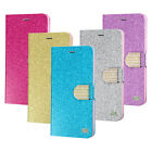 For Apple Leather PU WALLET POUCH Case Cover Colors