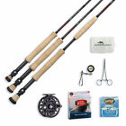 Redington Vapen Fly Rod and Rise II Reel Saltwater Outfit with Rod Case